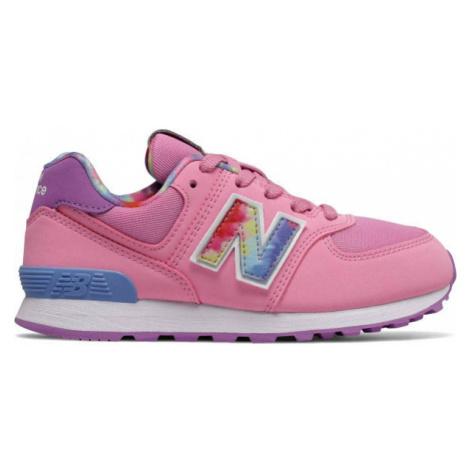 New Balance PC574TDP pink - Kids' leisure shoes