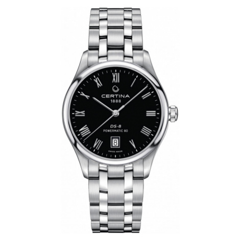 Ladies Certina DS-8 Powermatic 80 Automatic Watch C0334071105300