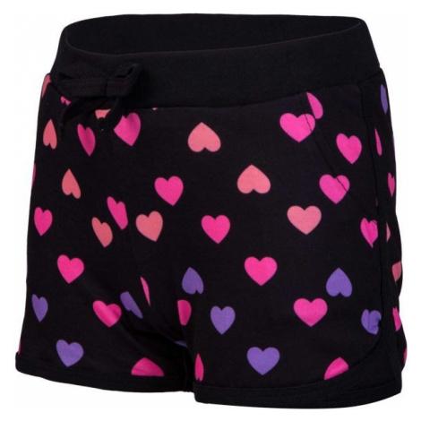 Lewro MISSY black - Girls' shorts