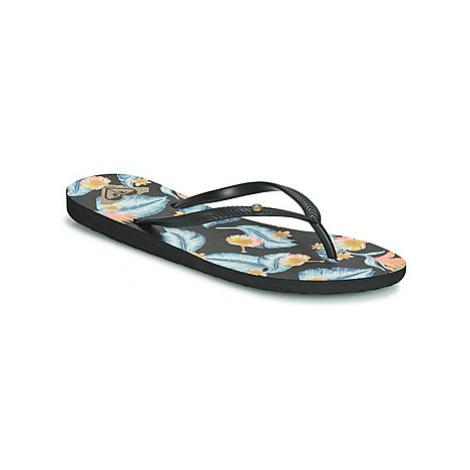 Roxy BERMUDA II J SNDL BL1 women's Flip flops / Sandals (Shoes) in Black