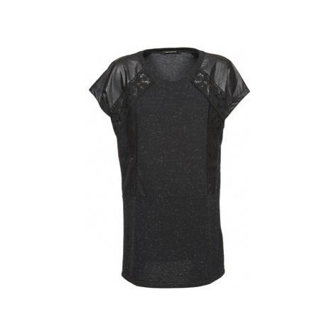 Fornarina DALHIA women's T shirt in Black