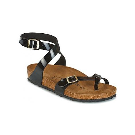 Birkenstock YARA women's Mules / Casual Shoes in Black