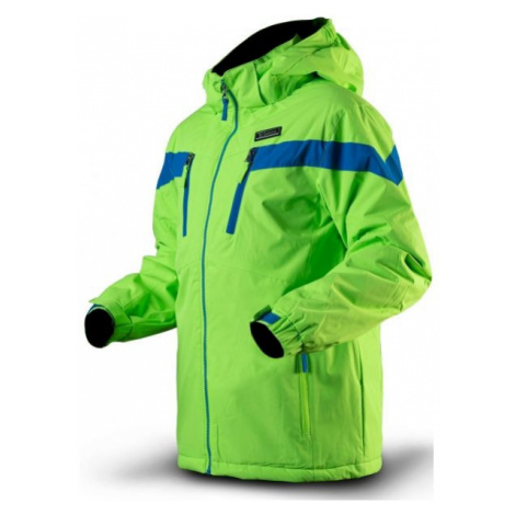 TRIMM SATO green - Boys' ski jacket