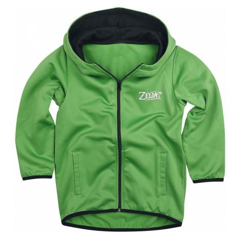 The Legend Of Zelda - Link's Awakening - Kids hooded zip - green