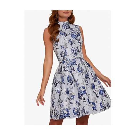 Chi Chi London Elowen Dress, Blue