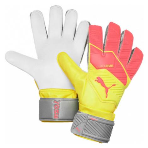 Puma ONE GRIP 4 RC orange - Men's goalkeeper gloves
