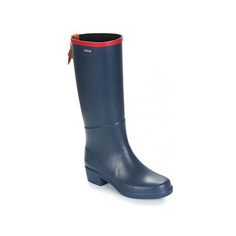 Aigle MISS JULIETTE A women's Wellington Boots in Blue