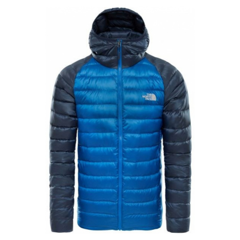 The North Face TREVAIL HOODIE M blue - Men's insulated jacket