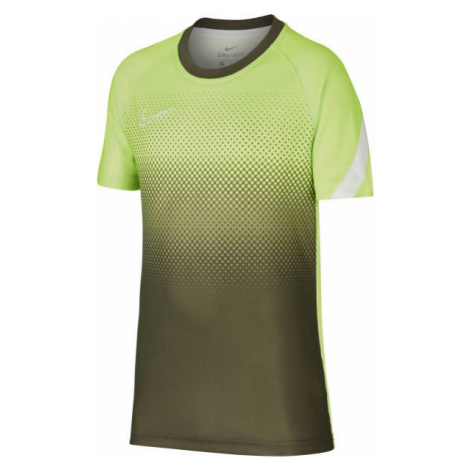Nike DRY ACD TOP SS GX FP green - Boy's football top