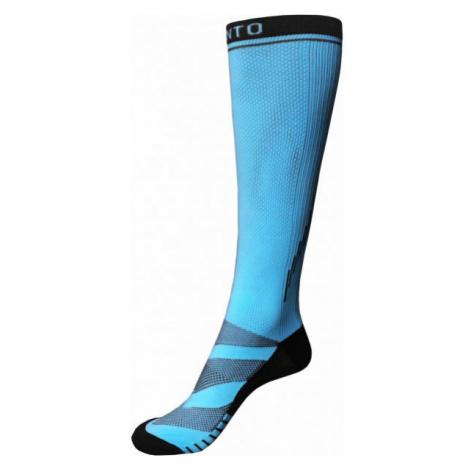 Runto RT-PRESS blue - Compression knee socks