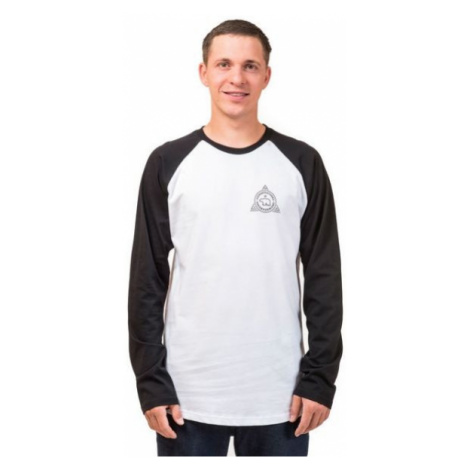 Horsefeathers GRIZZLY LS T-SHIRT white - Men's T-shirt