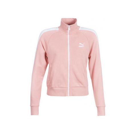 Puma CLASSICS T7 TRACK women's Tracksuit jacket in Pink