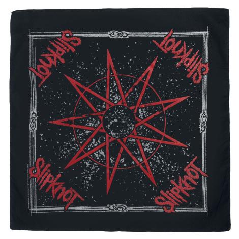 Slipknot - Nine Pointed Star - Bandana - Bandana - multicolour