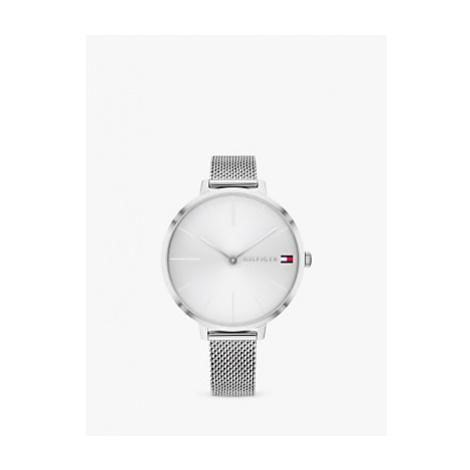 Tommy Hilfiger 1782163 Women's Mesh Bracelet Strap Watch, Silver