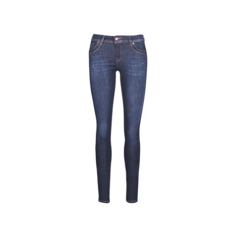 Kaporal SATIN women's Skinny Jeans in Blue