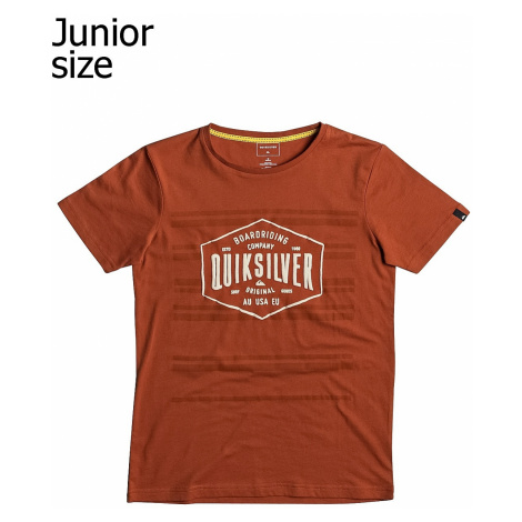 T-Shirt Quiksilver Neverlost Striped - RZB0/Rooibos Tea