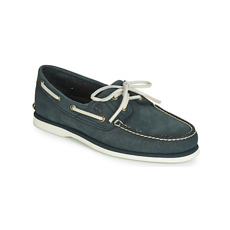 Timberland CLASSIC BOAT 2 EYE men's Boat Shoes in Grey