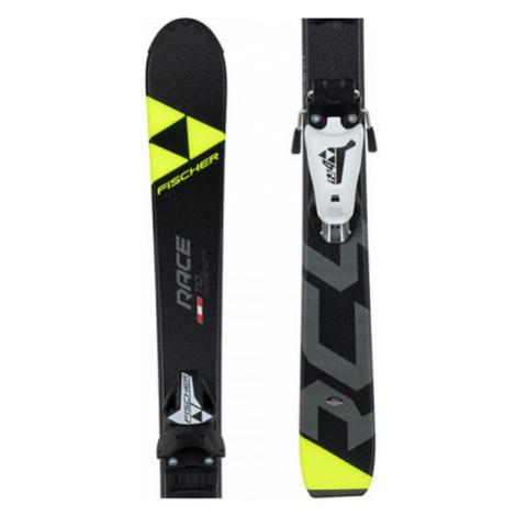 Fischer RC4 RACE JR + FJ4 AC - Junior downhill skis
