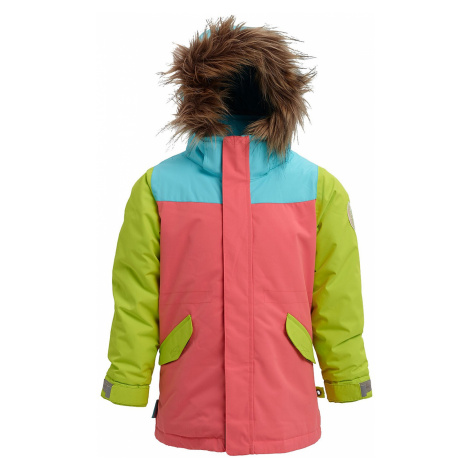 jacket Burton Aubrey - Georgia Peach Multi - kid´s