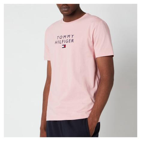 Tommy Hilfiger Men's Stacked Flag T-Shirt - Glacier Pink