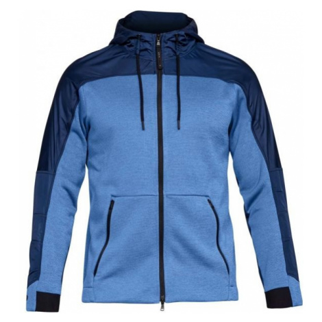 Under Armour UA COLDGEAR SWACKET blue - Men's sweatshirt