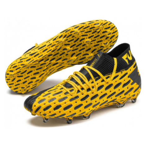Puma FUTURE 5.1 NETFIT FG AG red - Men's football boots