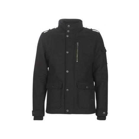 Jack Jones JCOJOEY men's Coat in Black Jack & Jones