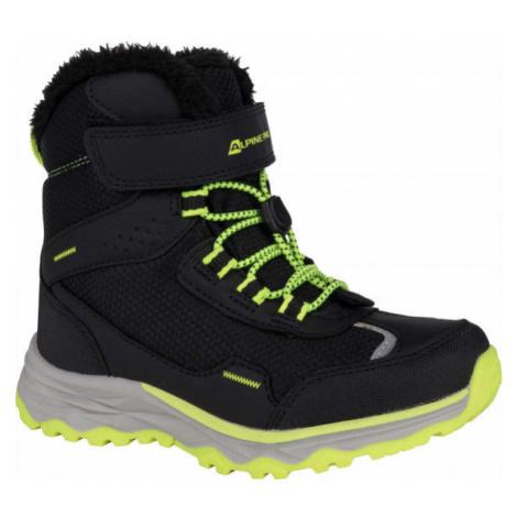 ALPINE PRO VESO gray - Children's winter shoes