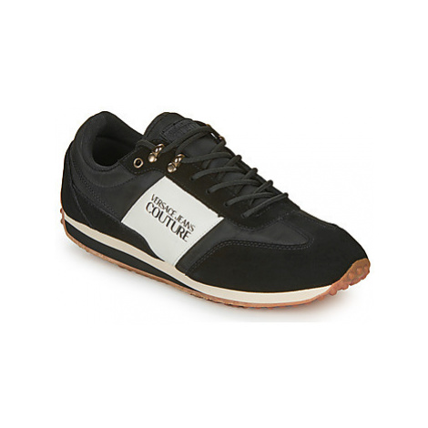 Versace Jeans Couture EOYUBSE2 men's Shoes (Trainers) in Black