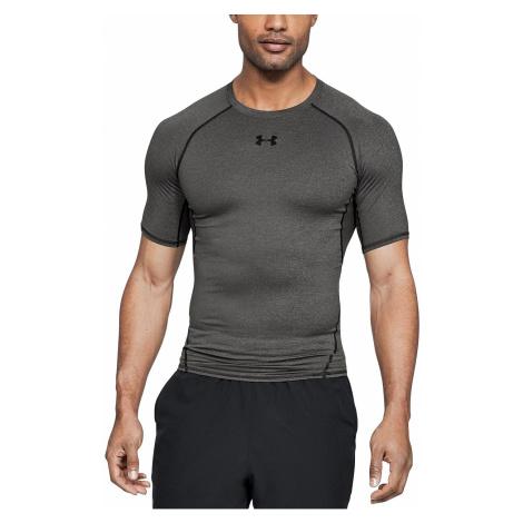 T-Shirt Under Armour HeatGear Armour Compression - 090/Carbon Heather/Black - men´s