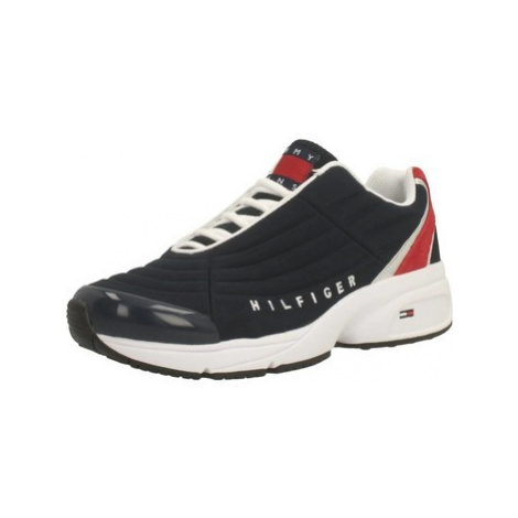 Tommy Jeans HERITAGE women's Shoes (Trainers) in Blue Tommy Hilfiger