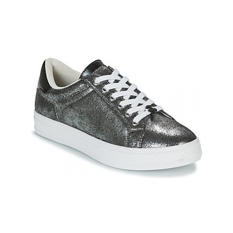 Le Temps des Cerises CALY women's Shoes (Trainers) in Silver