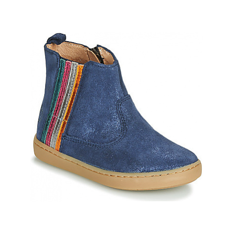 Shoo Pom PLAY STRIPES girls's Children's Mid Boots in Blue