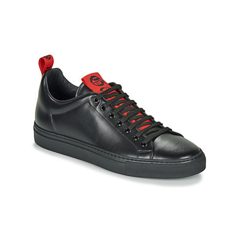 John Galliano 8557 men's Shoes (Trainers) in Black