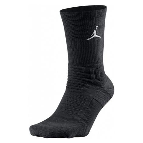Jordan Flight Crew Basketball Socks - Black Nike
