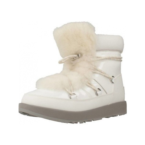 UGG HIGHLAND WATERPROOF women's Snow boots in White