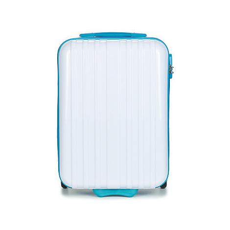 David Jones BANDROBAS 36L men's Hard Suitcase in White