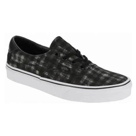 Vans Era 59 Shoes - Distressed Plaid/Black