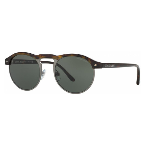 Giorgio Armani Woman AR8090 - Frame color: Tortoise, Lens color: Green, Size 49-20/145