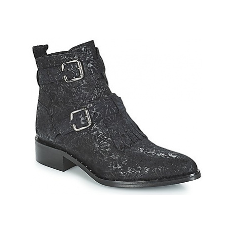 Philippe Morvan SMAKY1 V2 DAISY LUX women's Mid Boots in Black