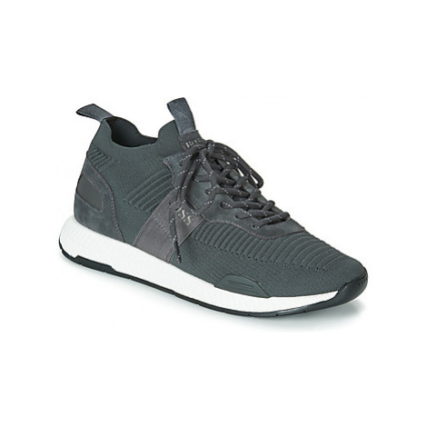 BOSS TITANIUM RUNN KNST men's Shoes (Trainers) in Grey Hugo Boss
