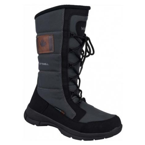 Willard CLAIRE grey - Women's winter shoes