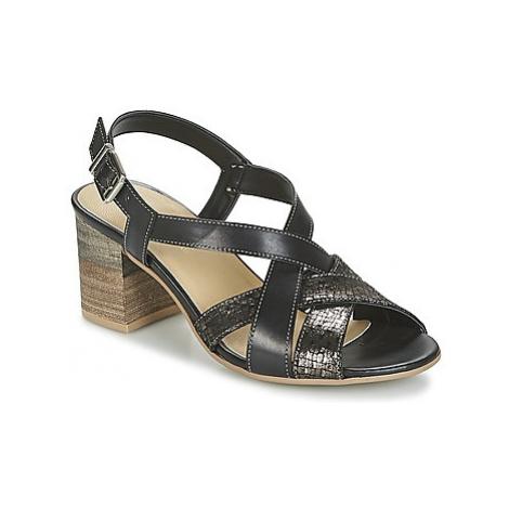 Samoa FOSINVITE women's Sandals in Black
