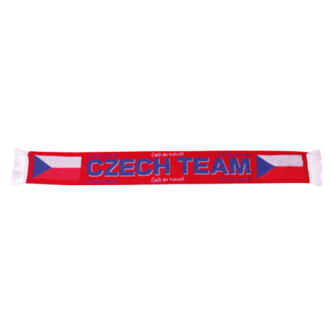 SPORT TEAM KNITTED SCARF white - Knitted scarf