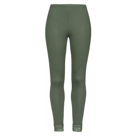 Black Premium by EMP - Green Leggings with Lace Seam Black Premium - Leggings - olive