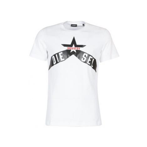 Diesel T DIEGO A7 men's T shirt in White