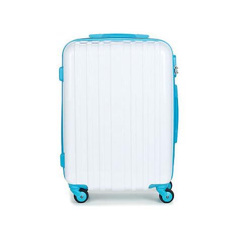 David Jones BANDROBAS 53L men's Hard Suitcase in White
