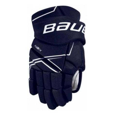 Bauer NSX GLOVES JR blue - Children's hockey gloves