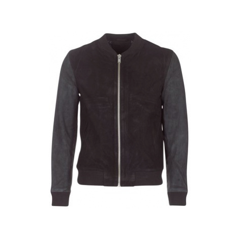 Selected KAI men's Leather jacket in Black