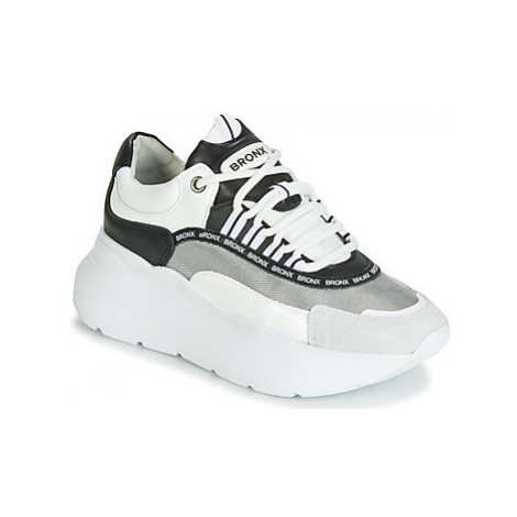 Bronx GRAYSON women's Shoes (Trainers) in White